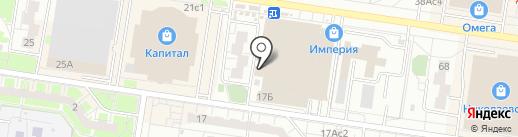 Ворлд Стоне на карте Тольятти