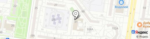 1ЕСС на карте Тольятти