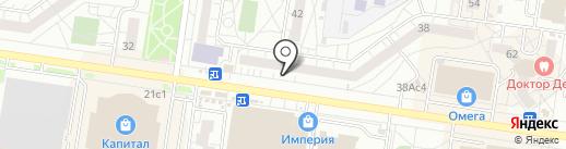 Ломбард Рантье на карте Тольятти