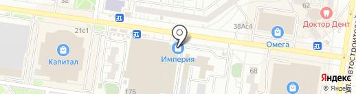 Ванда на карте Тольятти