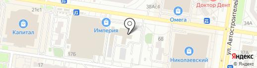 Отдел полиции №21 на карте Тольятти
