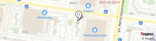 Комната социально-бытовой адаптации на карте Тольятти