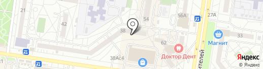 Паритет на карте Тольятти
