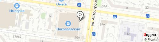 Barsetta на карте Тольятти