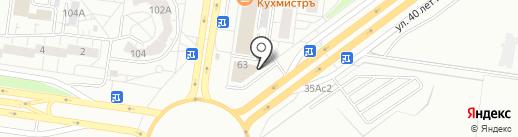 Олимпия на карте Тольятти