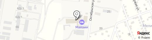 Загородный на карте Русской Борковки