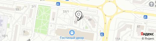 Креатив на карте Тольятти