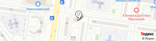 Баклашка на карте Тольятти