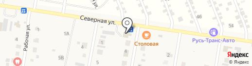 Служба эвакуации и грузоперевозок на карте Русской Борковки