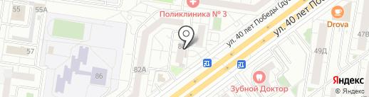 Толерантность на карте Тольятти