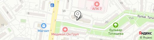 BODY Лайт на карте Тольятти