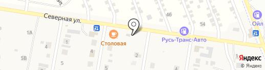 Супер Шина на карте Русской Борковки