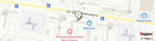 Бить Будем на карте Тольятти