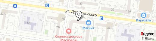 Kaza на карте Тольятти