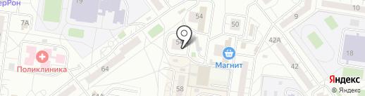 Элит на карте Тольятти