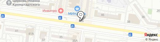 Киоск по продаже цветов на карте Тольятти