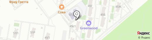 Гринвуд на карте Тольятти