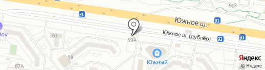 Магазин разливного пива на карте Тольятти