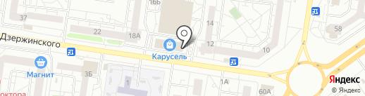 Магазин хозтоваров и удобрений на карте Тольятти