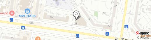 Любимое дело на карте Тольятти