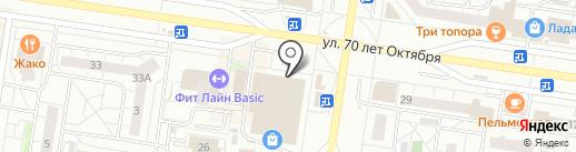 Плюшки-ватрушки на карте Тольятти
