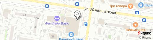 МагНат на карте Тольятти