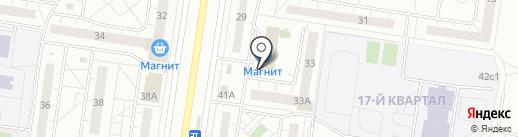Магазин товаров для дома и сада на карте Тольятти