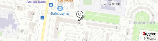 Работа это проСТО на карте Тольятти