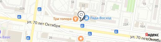 ВИЗАЛиК на карте Тольятти