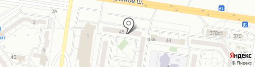 Облако-Дизайн на карте Тольятти