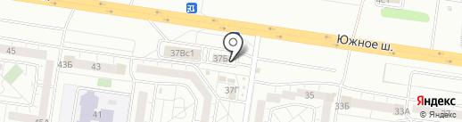 Магазин по продаже фруктов и овощей на карте Тольятти