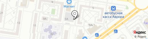Томат на карте Тольятти