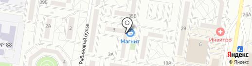 Магазин электротоваров на карте Тольятти