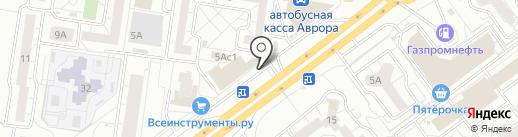 Орхидея на карте Тольятти