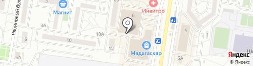 Яшинский рынок на карте Тольятти
