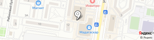 КРМ на карте Тольятти
