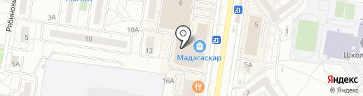 Штучки на карте Тольятти