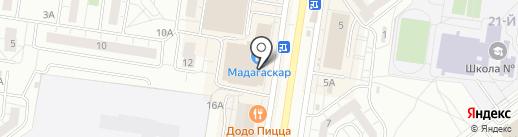 Банкомат, Активкапитал банк, ПАО на карте Тольятти