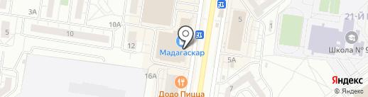 Современная Гуманитарная Бизнес Академия на карте Тольятти