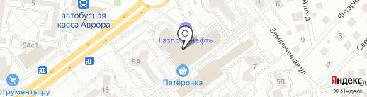 Ос`Алания на карте Тольятти