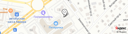 Гнездышко на карте Тольятти