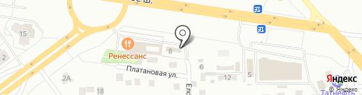Абсолют Траст на карте Тольятти
