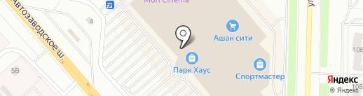 Кантата на карте Тольятти