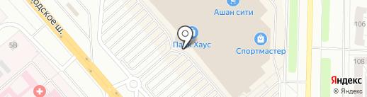 Парикмахерский магазин на карте Тольятти