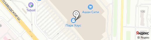 Глория на карте Тольятти