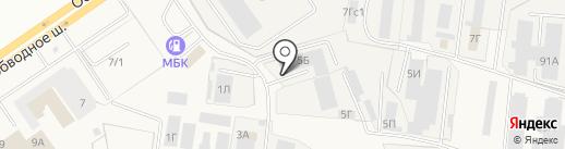 Вега-Сервис на карте Тольятти