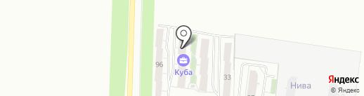 Патриот на карте Тольятти