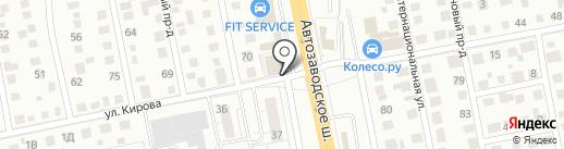 цифра.tv на карте Тольятти