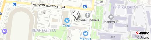 Элит-Фарма на карте Тольятти