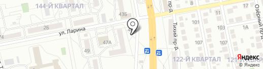 Магазин сладостей на карте Тольятти